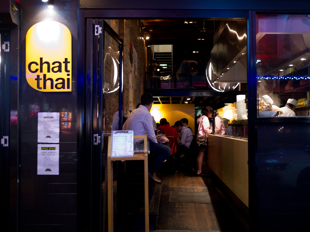 haymarket chat A visit to chat thai in sydney took me back to my visit to thailand, especially the   i always knew chinatown was in haymarket, but i recently.